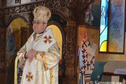 На празникот Воскресение Христово епископот Стојанов служеше Литургија во Струмица