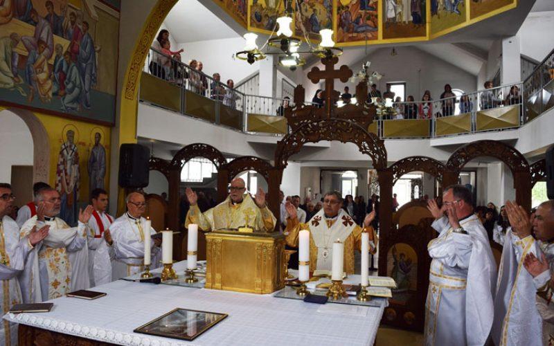 Радово: Отец Георги Ангелов прослави 60 години свештенство