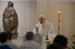 Папата Фрањо: Гревот го прави човекот постар, Светиот Дух го подмладува
