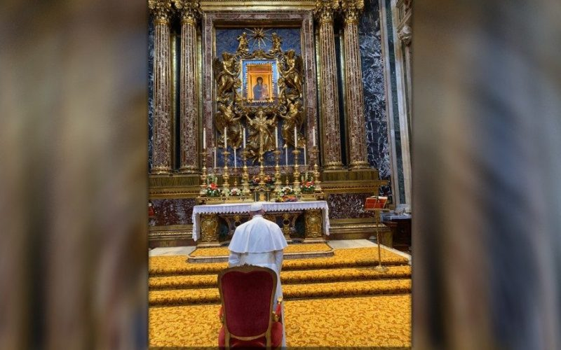 Патувањето во Романија Папата го довери на Богородица