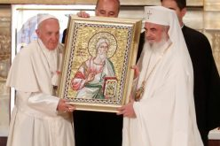 Папата во Романија. Молитвата Оче наш во православната катедрала