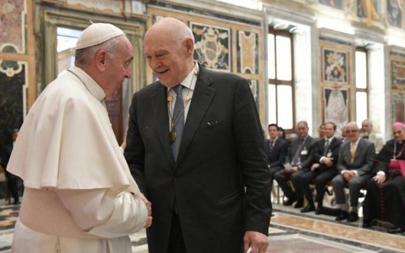 Папата Фрањо на средба со американските судии