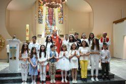 За Духовден бискупот Стојанов служеше во Скопската катедрала
