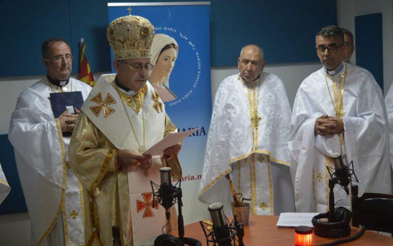 Благословено студиото на Радио Марија во Струмица