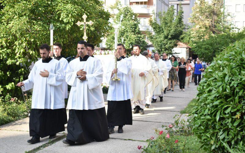 Прославен патрониот празник на Скопската бискупија и Катедрала