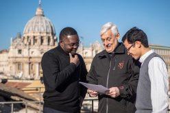 Папата ја посети Генералната курија на Друштвото Исусово