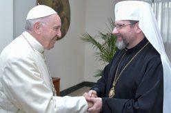 """Архиепископот Шевчук: Папата ја """"зеде на себе"""" болката на украинскиот народ"""