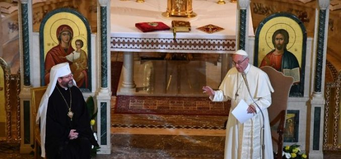 Папата основа Апостолски егзархат во Италија за украинските католици