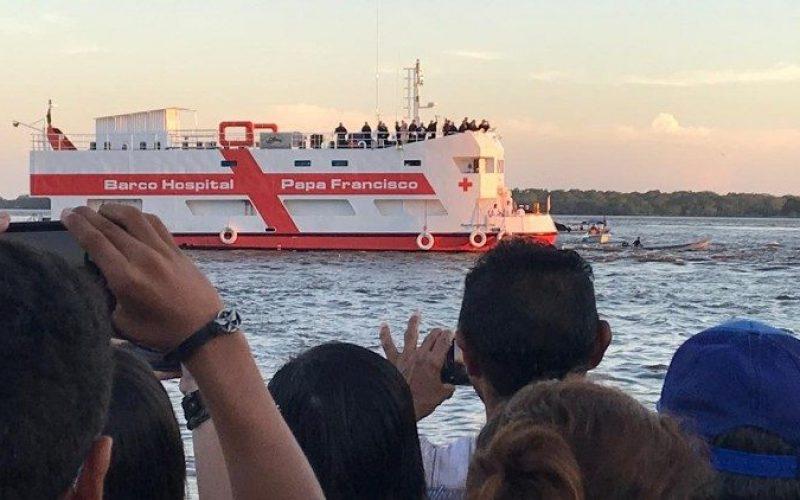 """Бразил: Бродот болница """"Папа Фрањо"""" ги прими првите пациенти"""