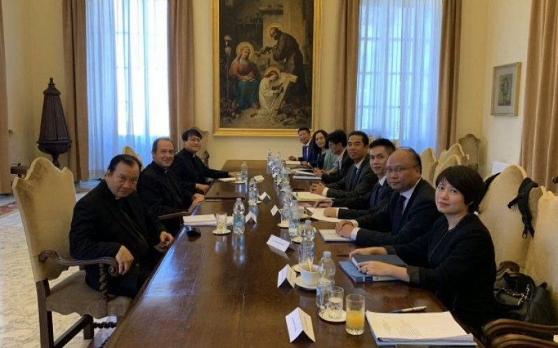 Напредува дијалогот помеѓу Светиот Престол и Виетнам