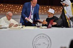 Основана Висока комисија за спроведување на Декларацијата за човечко братство за мир во светот