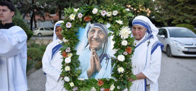 Прославен празникот на Света Мајка Тереза во нејзиниот роден град
