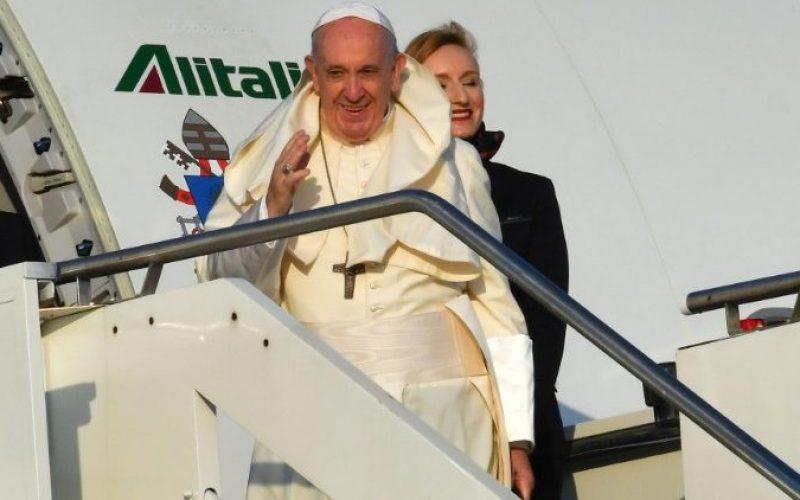 Папата ја заврши Апостолската посета на Африка