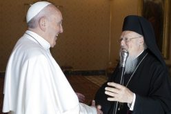 Папата Фрањо се сретна со патријархот Вартоломеј I во Ватикан