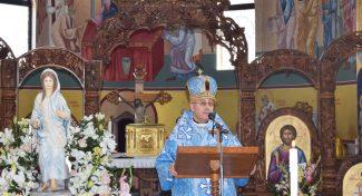 Проповед на епископот Киро Стојанов во Радово на празникот Марија од Назарет