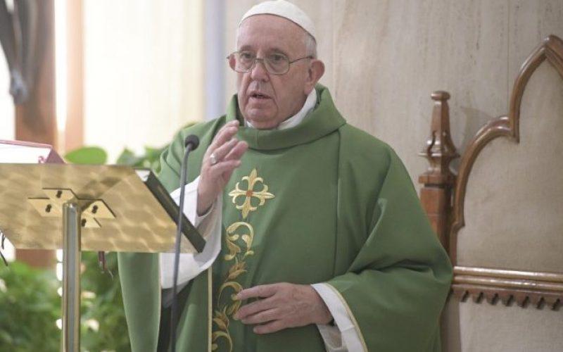 Папа Фрањо: Христовата љубов не е како онаа од сапуница