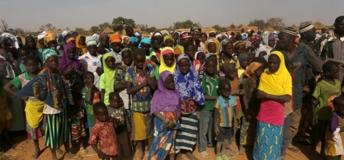 Папата упати апел за Буркина Фасо