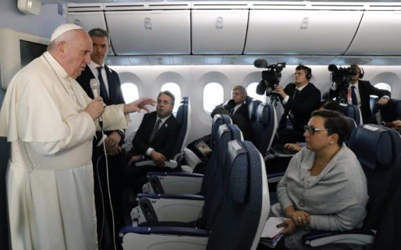 Папа: Противењето на нуклеарното оружје треба да влезе во Катехизмот на Католичката Црква
