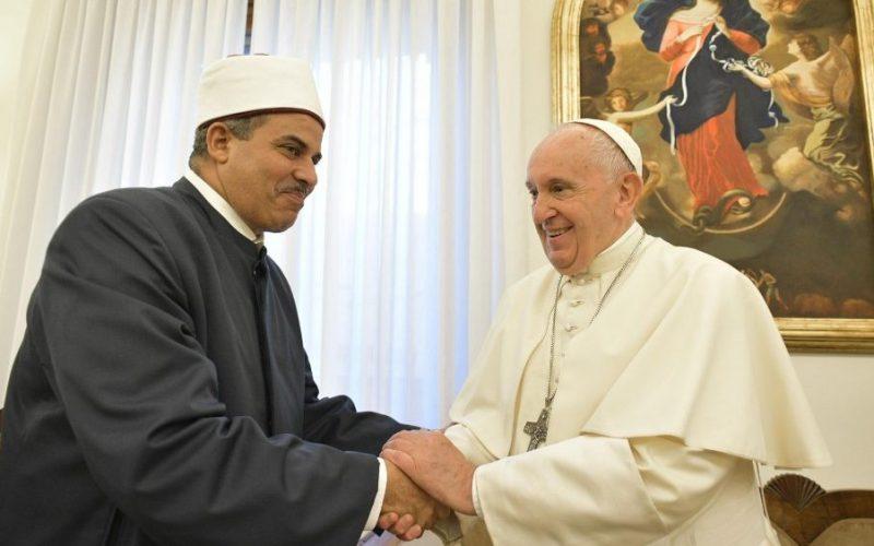 Папата Фрањо и големиот имам Ал – Тајеб на ООН предложија формирање на Светски ден на братството