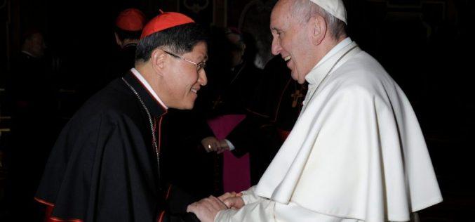 Папата го именува кардинал Тагле за префект на Конгрегацијата за евангелизација на народите