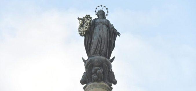Папата Фрањо ја довери Блажена Дева Марија на сите оние кои ја изгубиле надежта