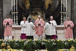 Папата Фрањо служеше света Литургија за филипинската католичка заедница во Рим