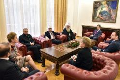 Поглаварите на верските заедници на средба со претседателот Пендаровски