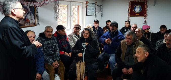 Бискупот Стојанов се сретна со корисниците на народната кујна на сестрите Мисионерки на љубовта