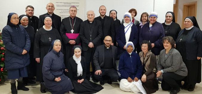 Бискупот Стојанов ги прими богопосветените лица