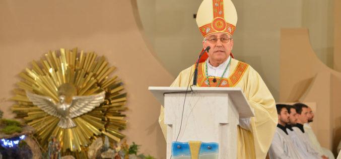 Проповед на Скопскиот бискуп и Струмичко – скопски епарх монс. д-р Киро Стојанов за време на Божиќната светата Литургија
