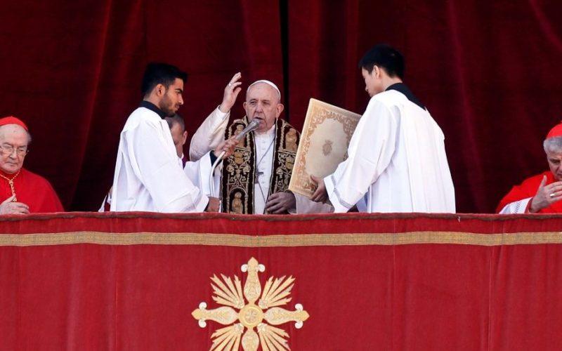 Порака на Папата Фрањо Urbi et orbi – на градот и светот
