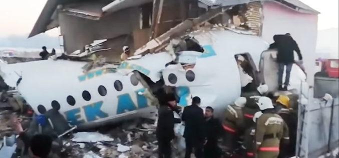 Сочуство на Папата за падот на авионот во Казахстан
