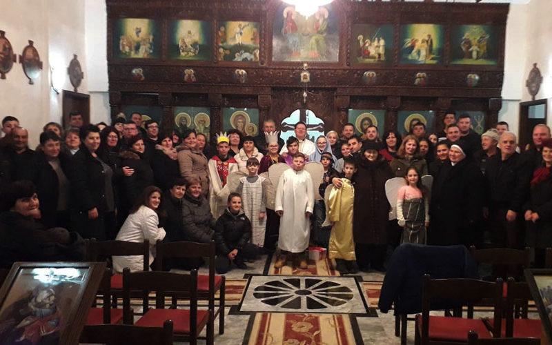 Прославен празникот Рождество Христово во Петралинци