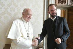 Папата го прими римскиот лутерански пастор