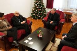 Апостолскиот нунциј и епископот Стојанов се сретнаа со Иванов