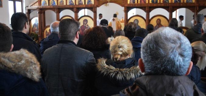 На Богојавление епископот Стојанов служеше света Литиргија во Струмица