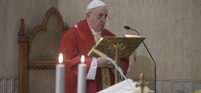 Папа Фрањо: Да се биде христијанин е Божји дар, кој не се купува