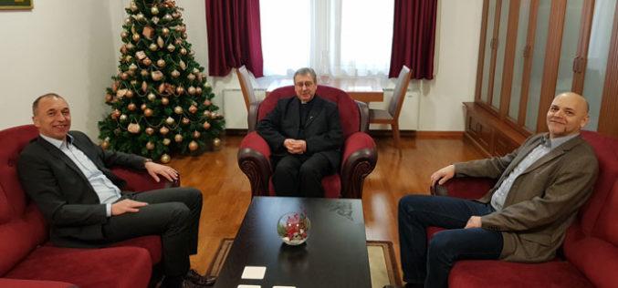 Бискупот Стојанов ги прими претставниците на Централната канцеларија за Хрватите надвор од Хрватска