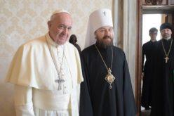 Папата го прими митрополитот Иларион