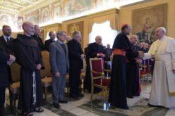 Папата ги прими членовите на Папскиот совет за законодавни текстови