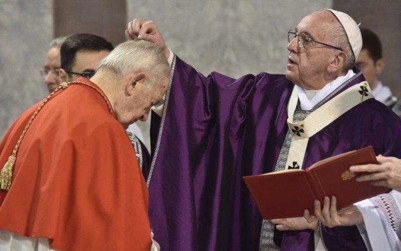 Папата на Пепелница: Великиот пост е време на оздравување