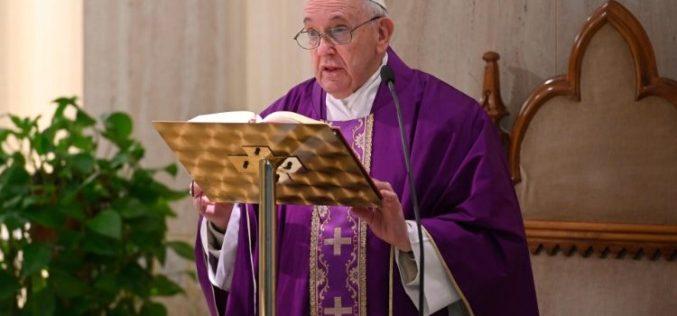 Света Марта: Во ова тешко време Бог нека им помогне на болните да најдат вистинска љубов