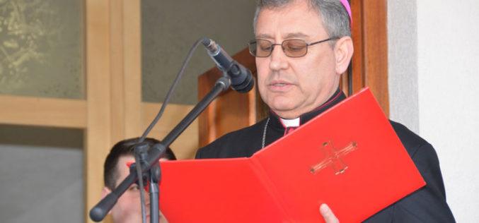 Бискупот Стојанов изрази братска близина со загрепскиот надбискуп Бозаниќ