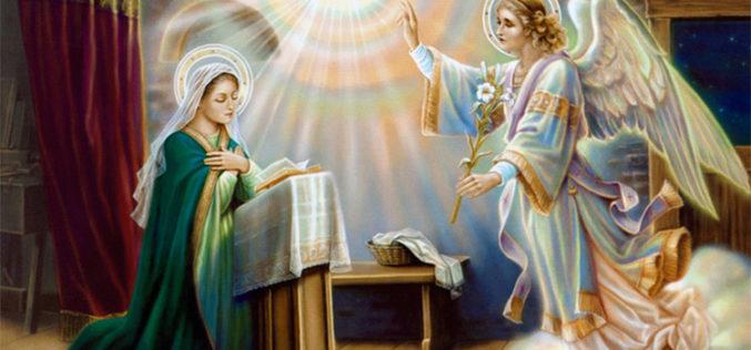 Размислување на бискупот Стојанов за празникот Благовештение