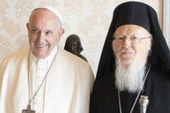 Цариградскиот патријарх се се приклучи на молитвената иницијатива на Папата