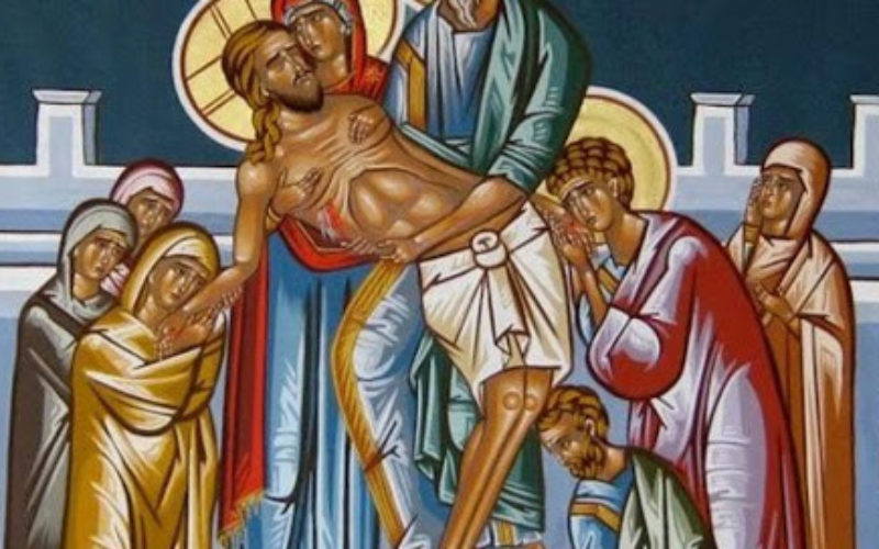 Четири станици од Исусовиот пат на Велики Петок