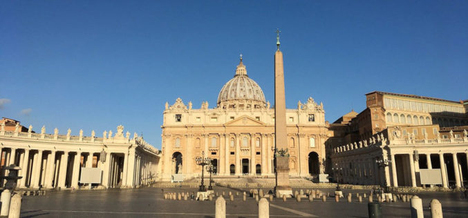 Ватикан од 4 мај постепено ги олеснува мерките