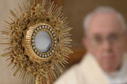 Папата се молеше за уметниците и за милост на креативност