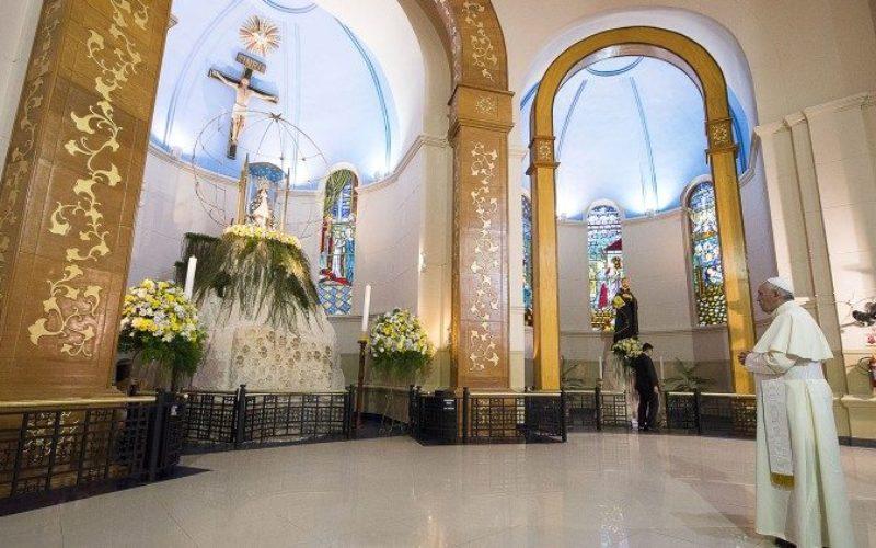 Папата го благослови Парагвај, земја посветена на Дева од Какупе