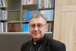 Обраќање на монс. Стојанов на видео конференцијата по повод Првата годишнина од посетата на папата Фрањо во Македонија
